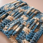Basketweave Scrubby Cloth (and Baby Blanket)