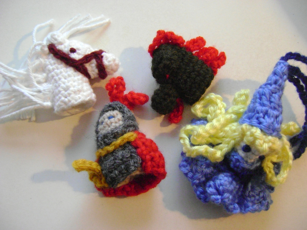 Bonito Free Knitting Patterns Finger Puppets Molde - Manta de Tejer ...
