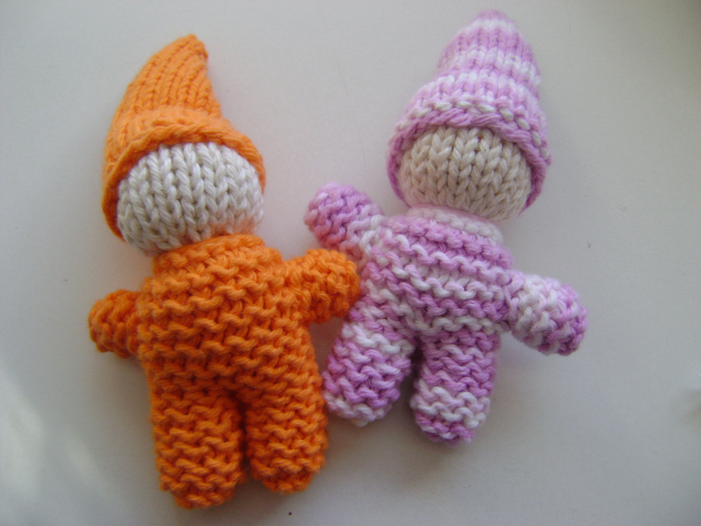 Sleepy sarah amigurumi crochet and bev s top down gnome knit
