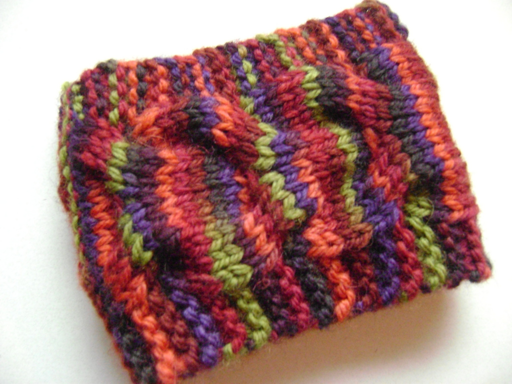 Coffee Cozy Knit Pattern : Cyber Monday - Free Patterns to fill your gift list!