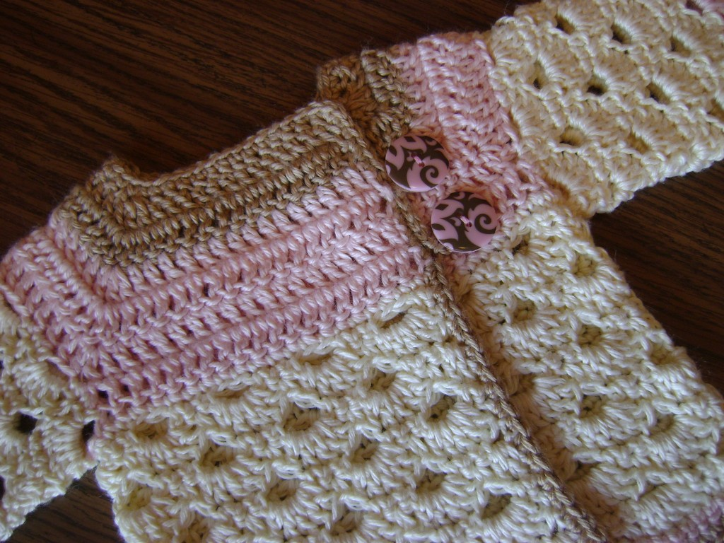 Mini Moogly Free Crochet Newborn Cardigan Sweater Pattern