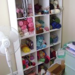 Organized yarn stash? Sign me up!