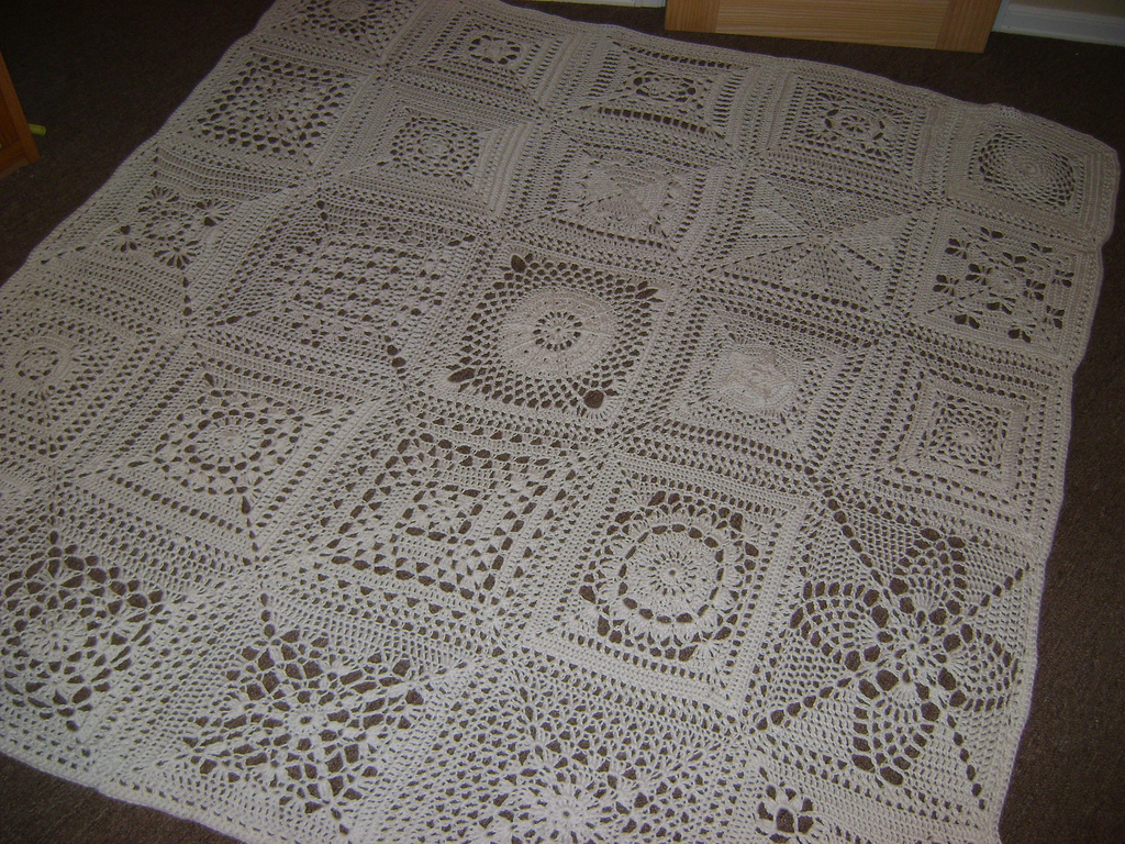 Crochet Quilt Squares : 10 Perfect Crochet Squares for Fast Afghans