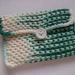 Chinese Waves Pouch
