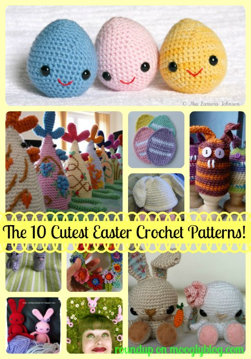 The 10 Cutest Easter Crochet Patterns