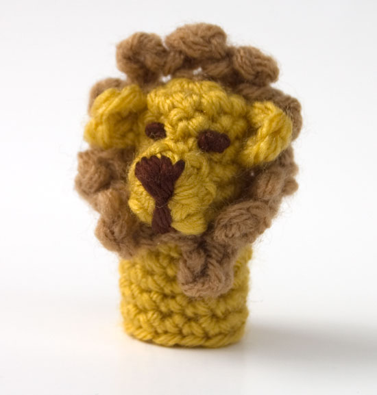 Free Knitting Pattern Toy Lion : Free Pattern: Lion Finger Puppet