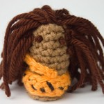 Tarzan Jungle Man Finger Puppet Free Crochet Pattern