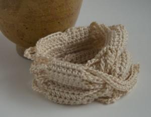 Ivory My Stle crochet bracelet