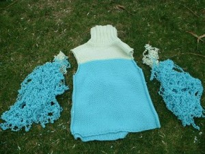 How to Recycle a Sweater via Handspun Yarn Shop and Fiber Art Blog
