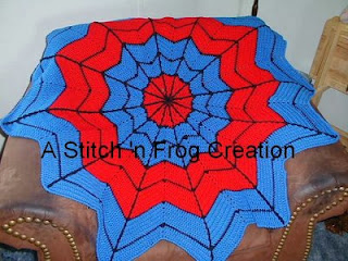 spiderman blanket crochet superhero free pattern