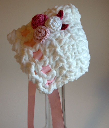 Free Pattern Toot Sweet Newborn Baby Bonnet