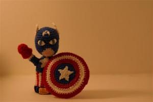 captain america avengers hulk iron man superhero finger puppets free pattern