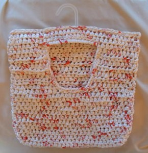 plarn clothes pin bag eco free pattern