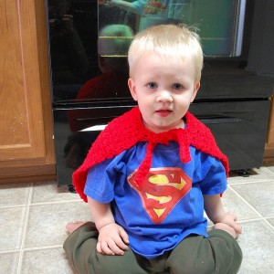 kid cape superhero superman free pattern
