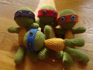 teenage mutat ninja turtles amigurumi free pattern