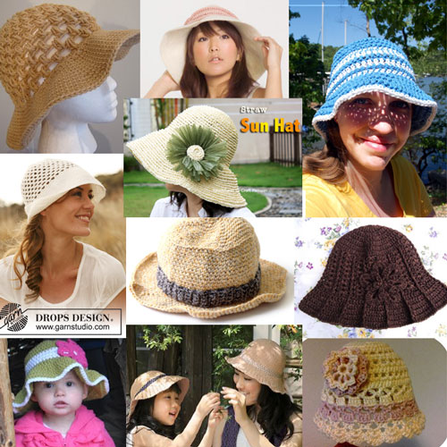 d111c8ddc53 10 Free Crochet Summer Hat Patterns
