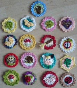 Free Crochet Pattern Crochet Buttons German English Download Ravelry
