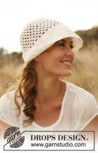 Free Crochet Small Brimmed Hat Pattern