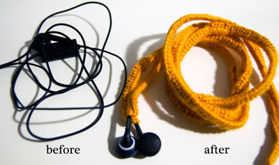 free crochet pattern photo tutorial headphones music cozy
