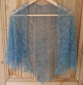 Free Pattern Crochet Lace Shawl Milobo