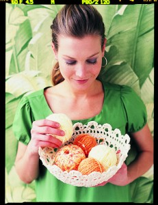 Filigree Bowl Free Pattern Crochet Lace