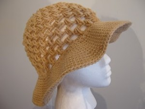 Floppy Sun Hat Free Crochet Pattern