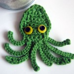 Kraken Octopus Squid Applique