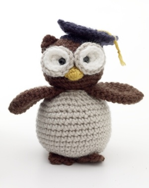 Crochet Patterns Owls : Owl Crochet Amigurumi Graduation Pattern