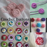 Free Patterns Crochet Buttons