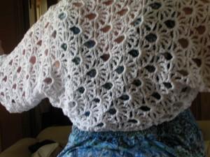 Crochet Lace Free Pattern Shrug Bolero