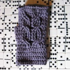 Owl Mitts free crochet pattern download