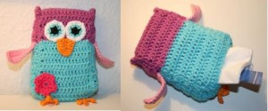 Snot Owl Tissue Cover by Susanne Madsen