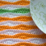 Summer Waves Placemat Free Crochet Pattern