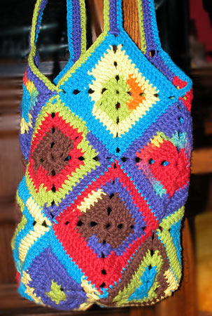 Inga's Haekelbeutel, a free crochet pattern