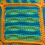 Wavy Bably Block Closeup