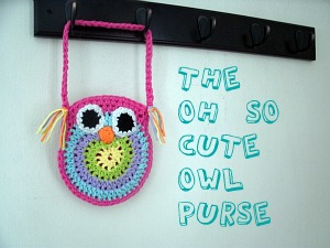Free Crochet Owl Purse Pattern at Big Crafty Blog