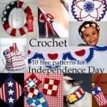 Crochet Independance Day: 10 Free Patterns!