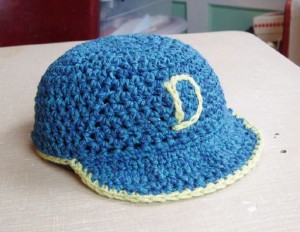 Free Crochet Pattern Baseball MLB
