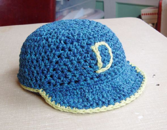 CROCHETED BASEBALL CAP PATTERN - Crochet Club