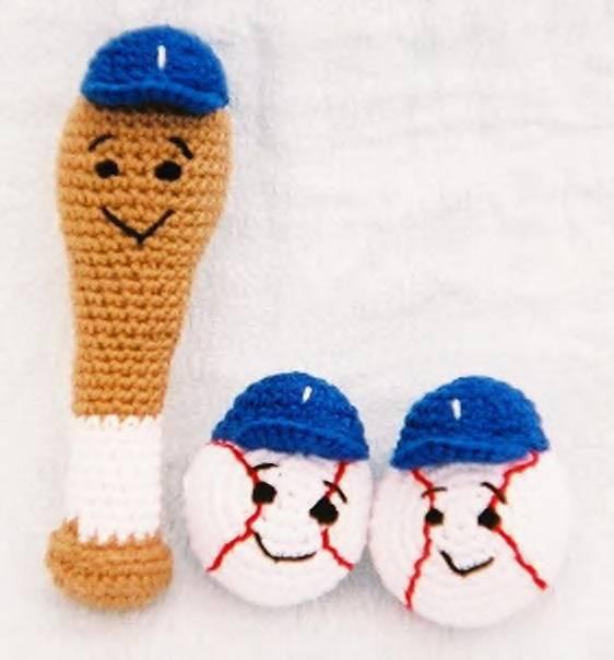 Free Crochet Pattern Baby Baseball Cap : Celebrate Baseball Season with 10 Free Patterns