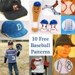 Celebrate Baseball Season with 10 Free Patterns