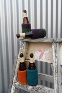 Free Crochet Pattern Beer Bottle Cozy Felted