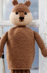 Free Crochet Pattern Father's Day Gopher Golf Club Cover Caddyshack