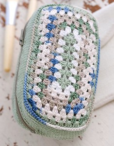 Free Crochet Pattern Father's Day Dopp Kit Shaving Kit Toiletries Bag