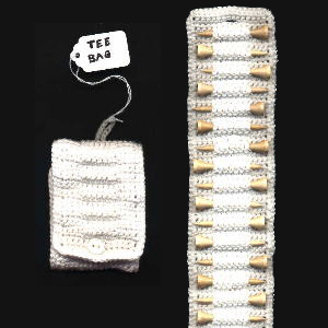 Free Crochet Pattern Father's Day Golf Tee Organizer Bag