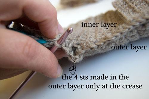 Wool Striped Wallet Free Crochet Pattern moogly billfold