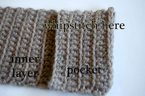 Wool Striped Wallet Free Crochet Pattern moogly billfold men women gift