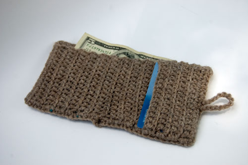 Crochet Wallet Free Pattern : wool striped wallet add this pattern to your ravelry queue this wallet ...