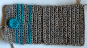 wool striped wallet free crochet pattern moogly