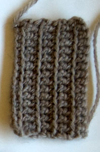 wool striped wallet free crochet pattern moogly